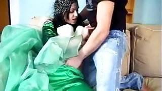 ARAB Muslim HIJAB Girl BLOWJOB FUCK 5 - NV